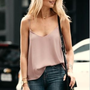Top Camisole ZOEY BLUSH CAMISOLE